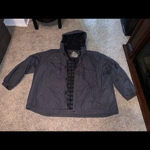 Other - Men's winter coat 4X - removable hood